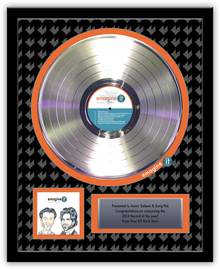 Gold Or Silver Records Awardpro