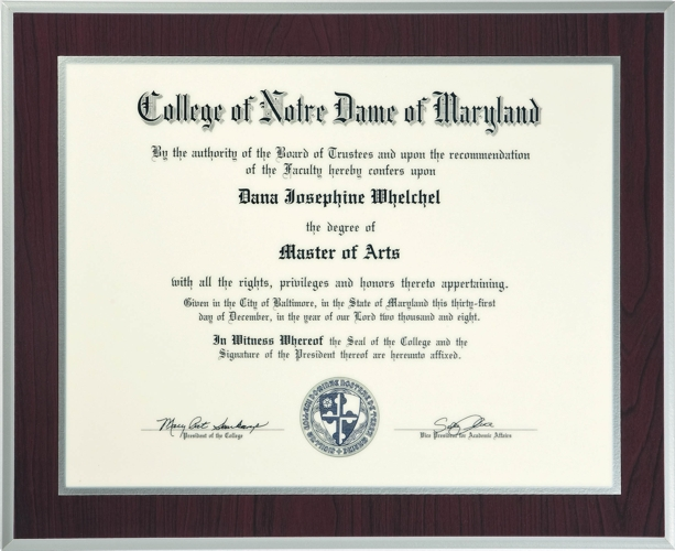 Laminate your College Diploma