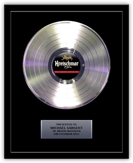 Gold Or Silver Records Awardpro